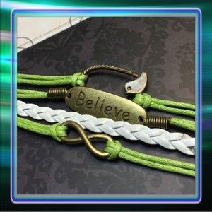 Jewelry - Believe Infinity Bracelet